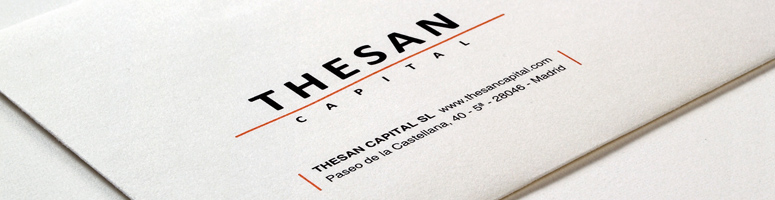 Identitat Corporativa Thesan Capital