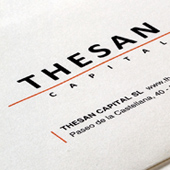 Graphic Project: Thesan Capital Corporate Identity - thumbnail