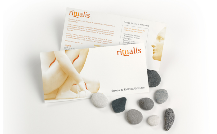 Photo Ritualis Promotional element (front and back)