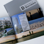 Graphic Project: Design+Barcelona catalogue - thumbnail