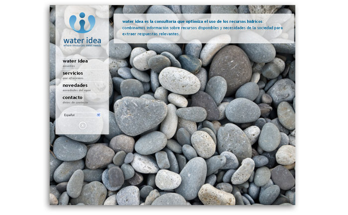 Foto web water idea