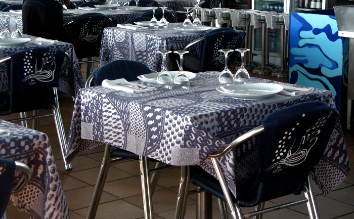Escribà tablecloth photo
