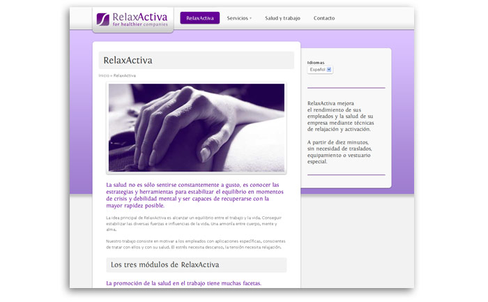 RelaxActiva web photo