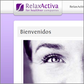 Website Project: RelaxActiva - thumbnail