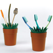 Industrial Project: MINI GARDEN Toothbrushes pot - thumbnail
