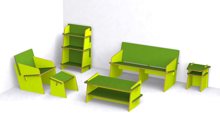 Photo FLAT KIT Furniture Collection