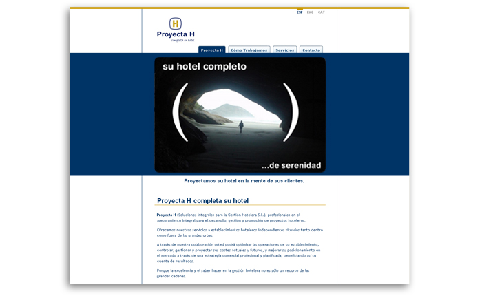 Proyecta H Web Homepage 2