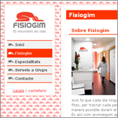 Website Project: Fisiogim - thumbnail
