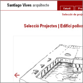 Website Project: Santi Vives - thumbnail
